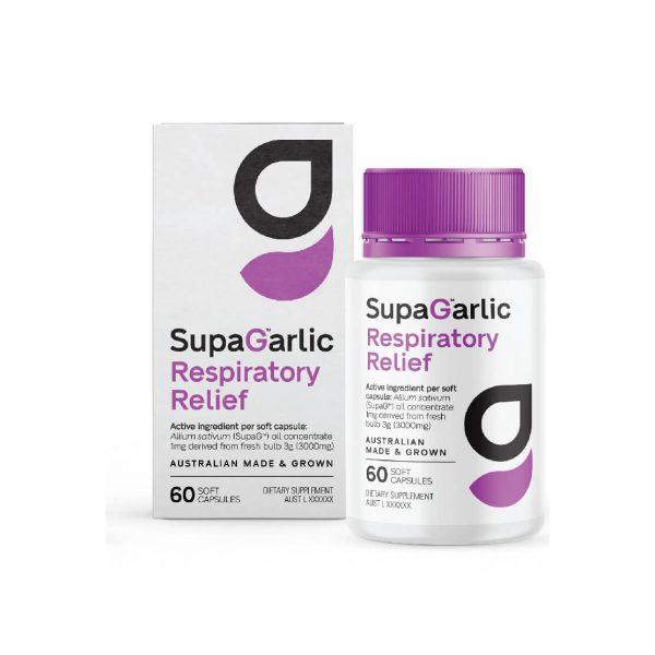 SupaGarlic Respiratory Relief